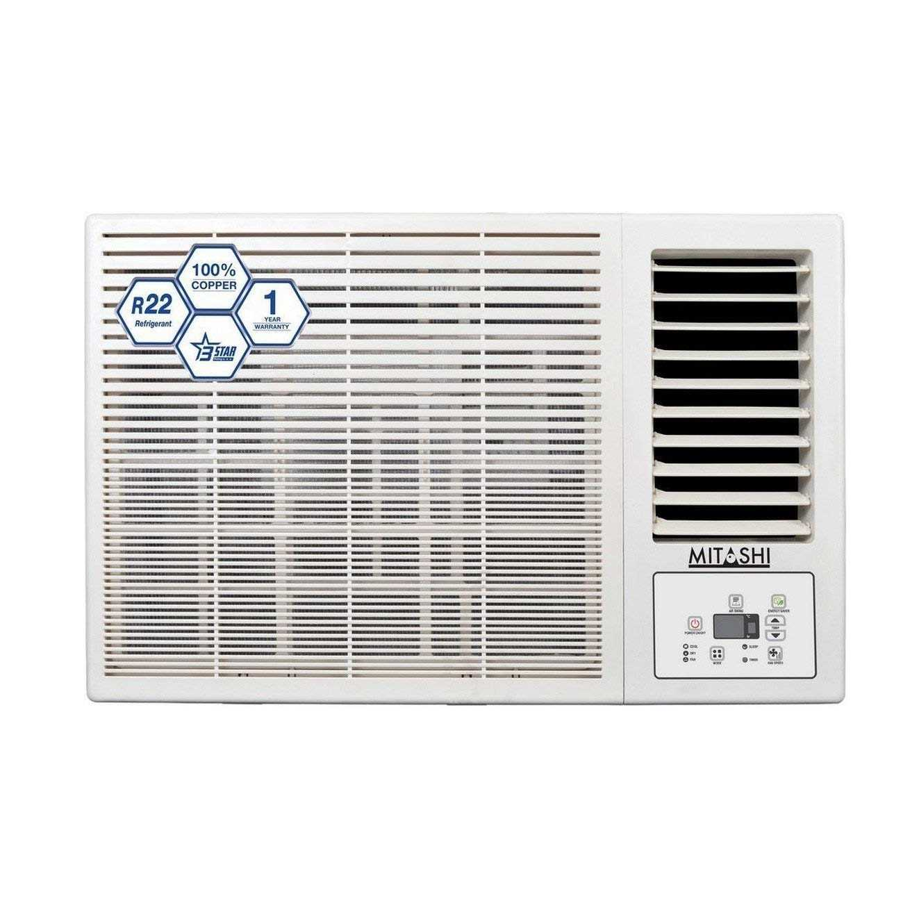Mitashi MiWAC153v35 1.5 Ton 3 Star Window AC