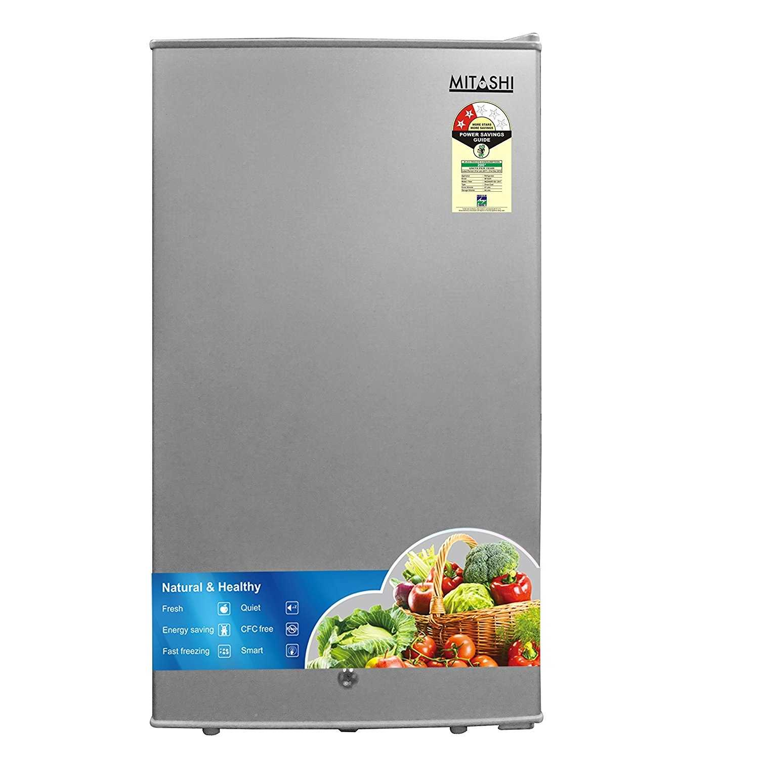 Mitashi MSD090RF100 87 Litres 2 star Direct Cool Single Door Refrigerator
