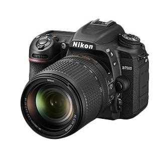 Nikon D7500 Camera with 18-140 mm lens