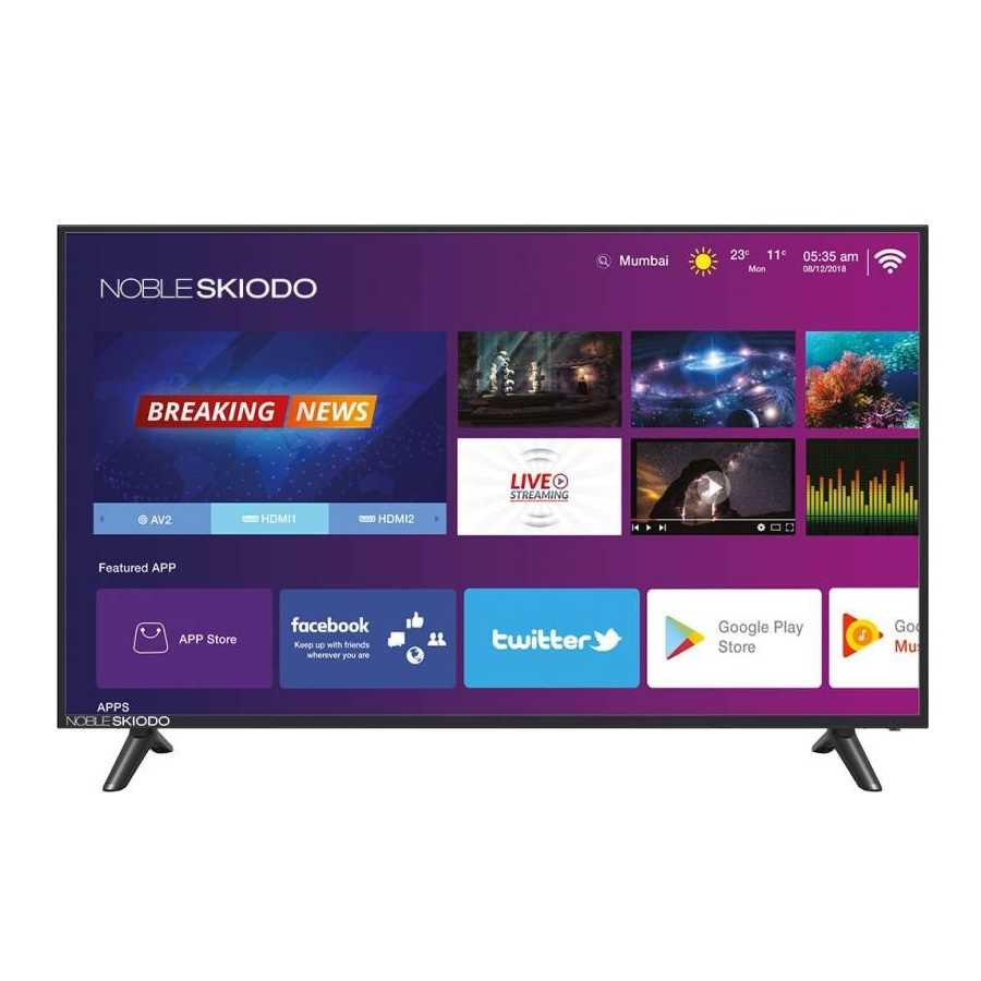 Noble Skiodo NB39INT01 39 Inch HD Ready Smart LED Television