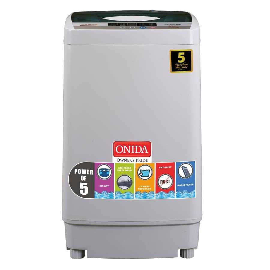 Onida Crystal T62CGN 6.2 Kg Fully Automatic Top Loading Washing Machine