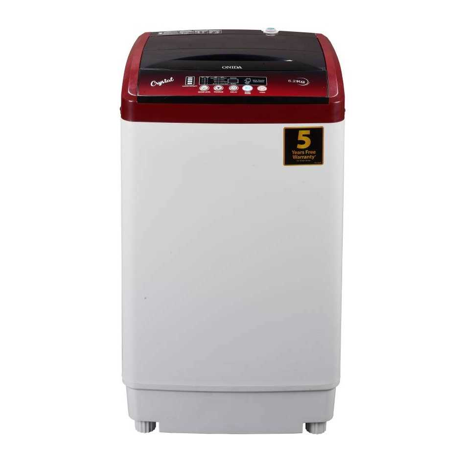 Onida Crystal T62CRD 6.2 Kg Fully Automatic Top Loading Washing Machine