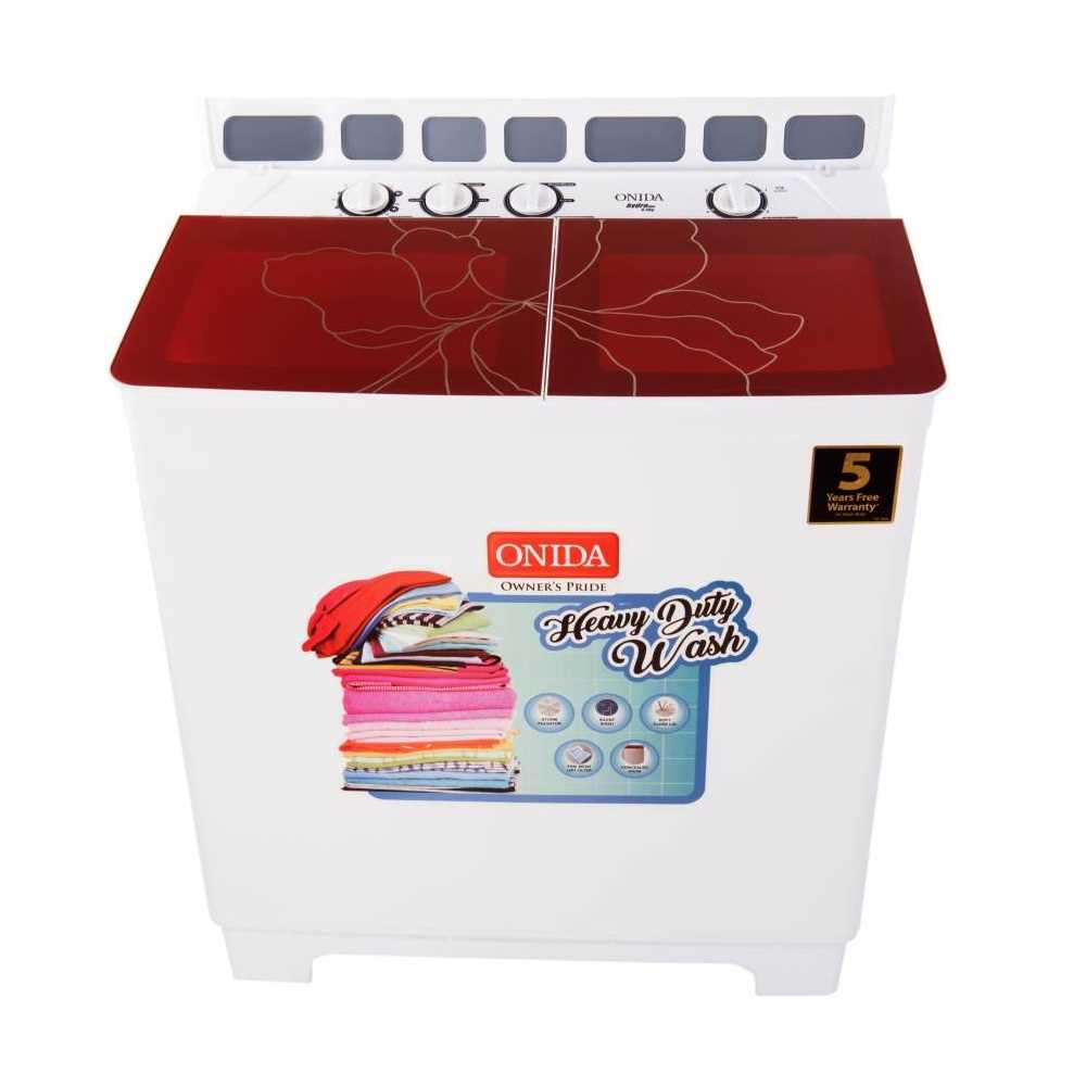 Onida Hydro Care S85GC 8.5 Kg Semi Automatic Top Loading Washing Machine