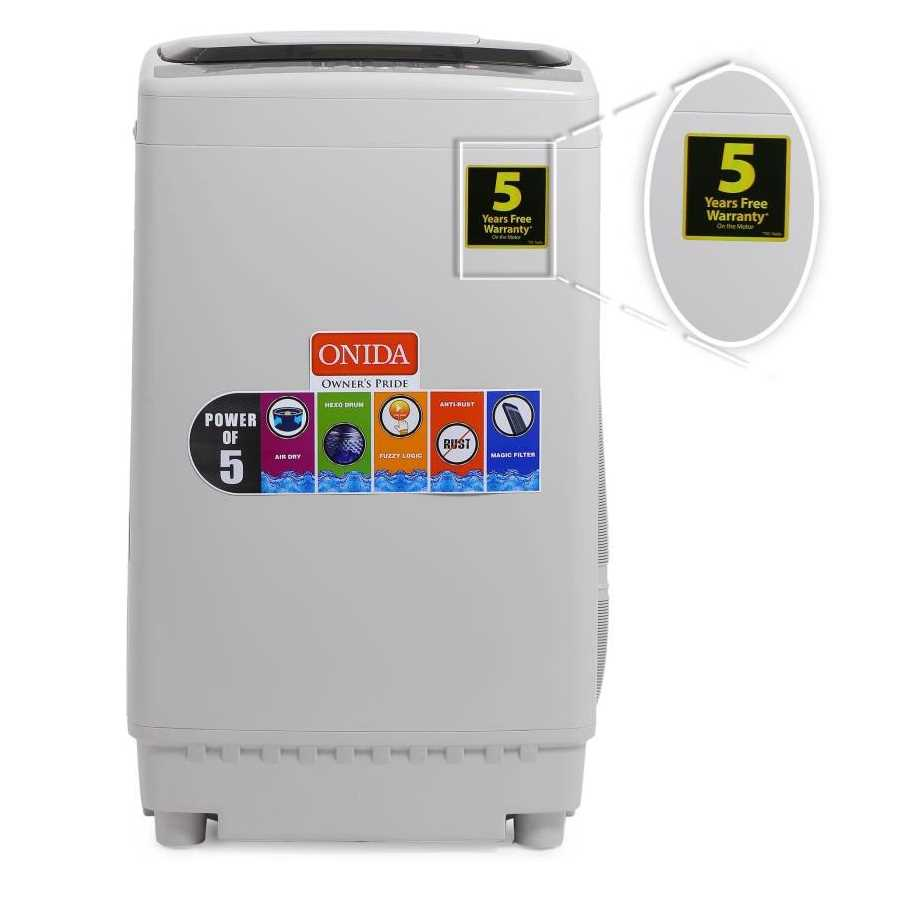 Onida T65CGD 6.5 Kg Fully Automatic Top Loading Washing Machine