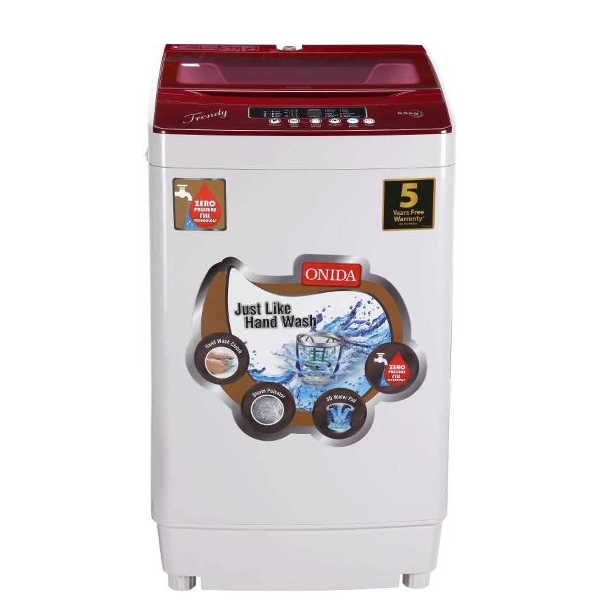 Onida T65TR 6.5 Kg Fully Automatic Top Loading Washing Machine
