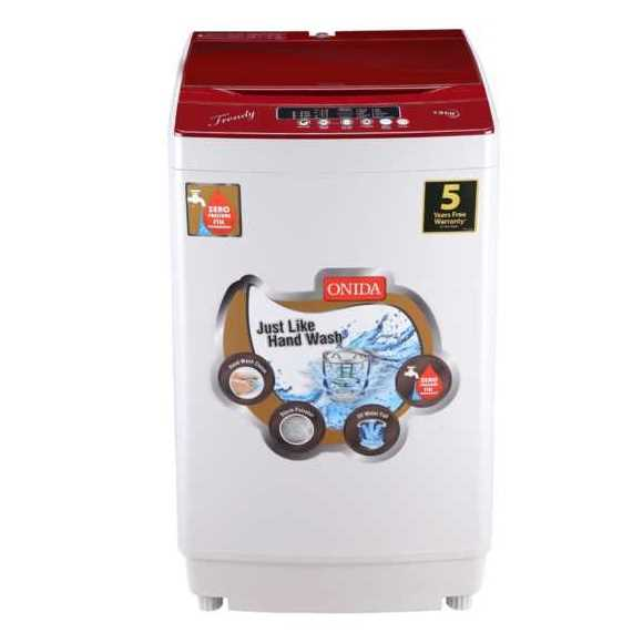 Onida Trendy T75TR 7.5 Kg Fully Automatic Top Loading Washing Machine