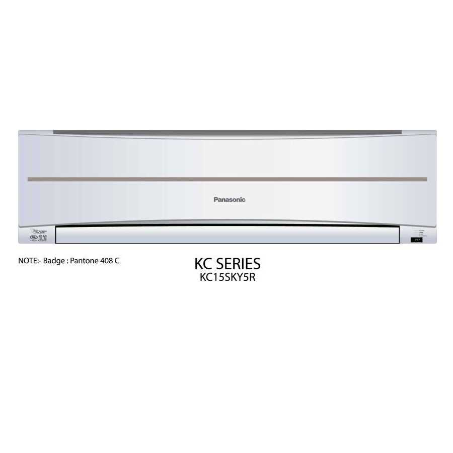 Panasonic CS CU KC15SKY5R 1.2 Ton 5 Star Split AC