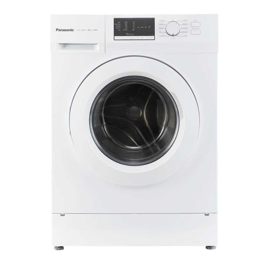 Panasonic NA-128XB1W01 8 Kg Fully Automatic Front Loading Washing Machine