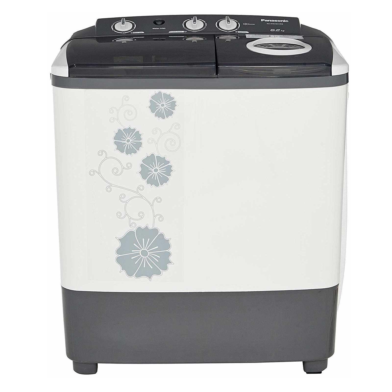 Panasonic NA-W62B4HRB 6.2 Kg Semi Automatic Top Loading Washing Machine
