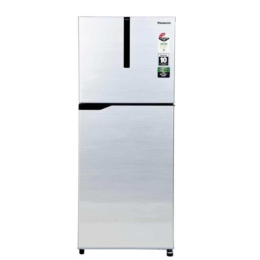 Panasonic NR FBG27VSS3 268 Liter Frost Free Double Door 3 Star Refrigerator