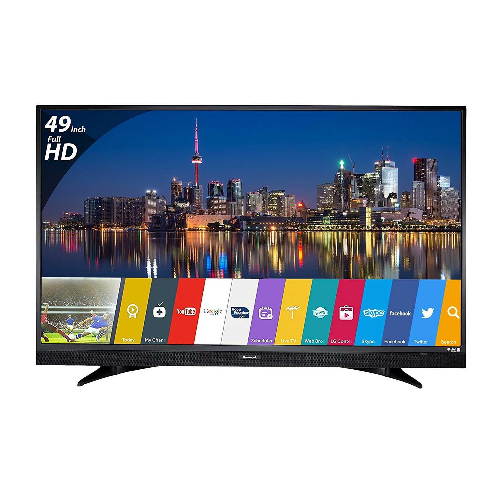 Panasonic Viera TH-W49ES48DX 49 Inch Full HD Smart LED Television