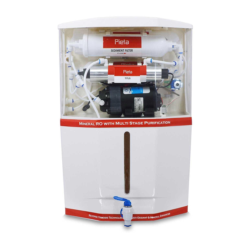 Pieta Titlis 18 Litres RO UV Water Purifier
