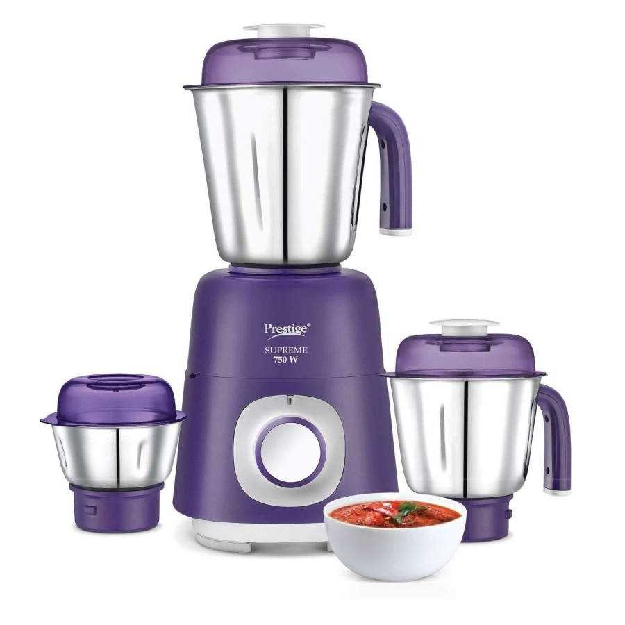 06f92b3c003 Prestige Supreme 41372 750 W Mixer Grinder Price  30 May 2019 ...