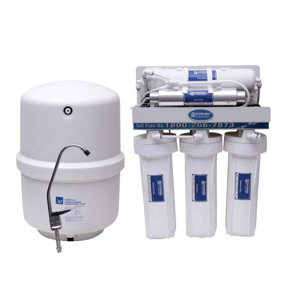 Pureness Under Sink 10 L RO UV UF Water Purifier