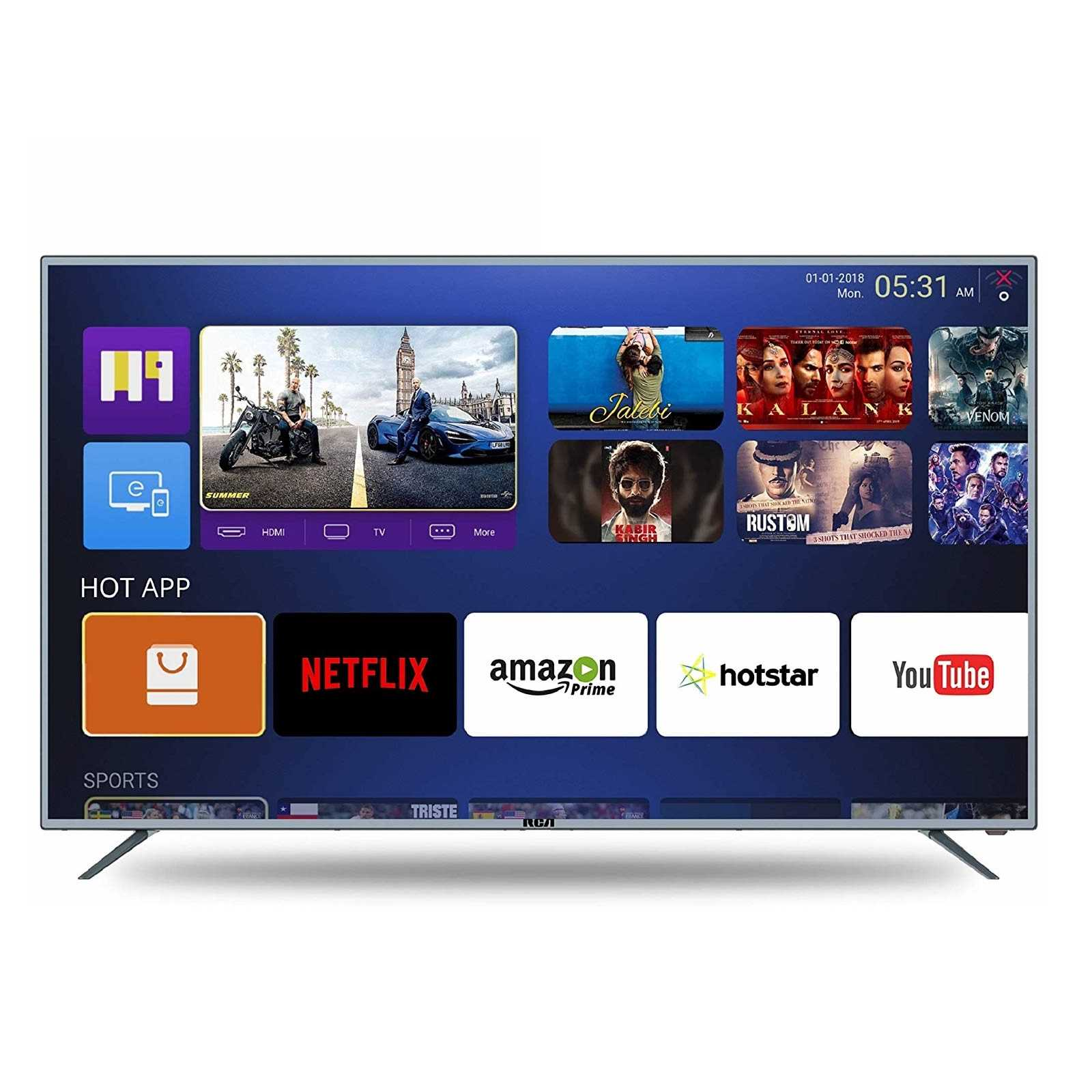 RCA 49WR1904U 49 Inch 4K Ultra HD Smart LED Television