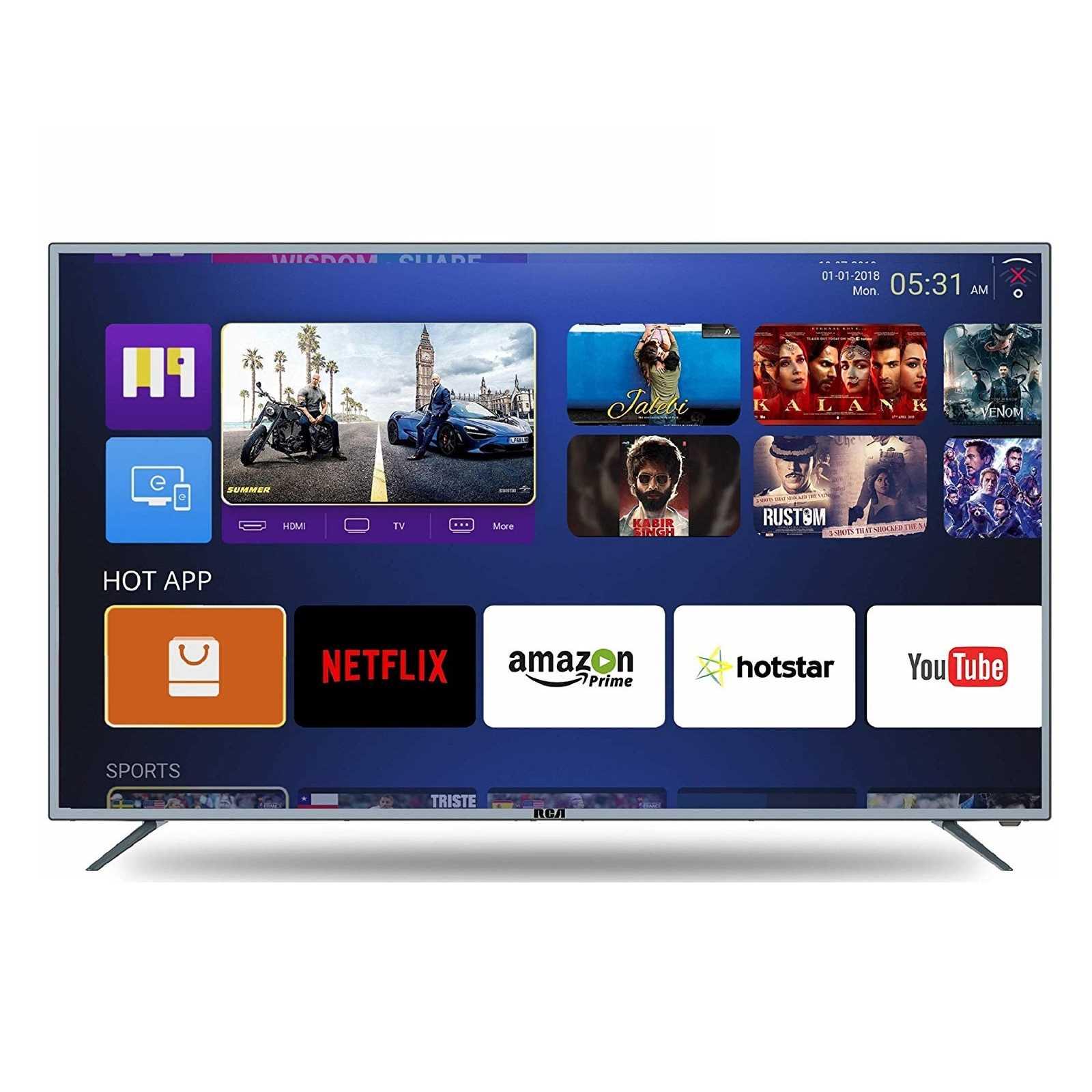 RCA 55WR1904U 55 Inch 4K Ultra HD Smart LED Television