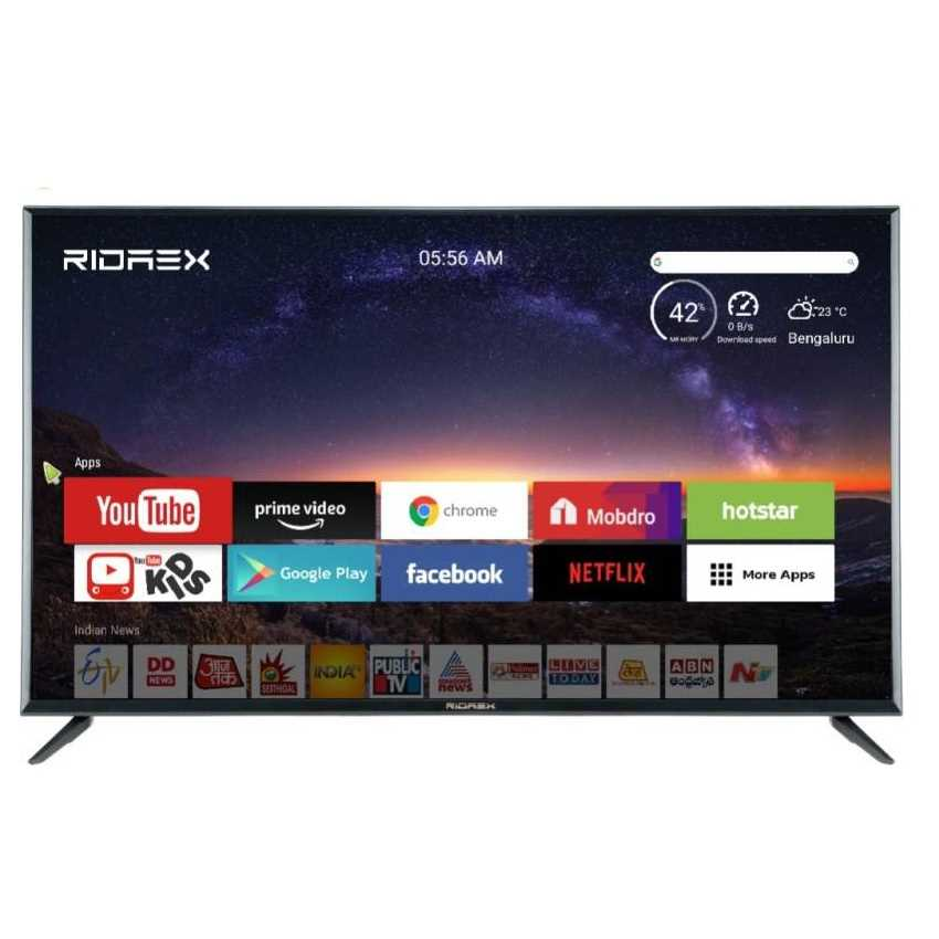 Ridaex REPRO165 65 Inch 4K Ultra HD Smart Android LED Television