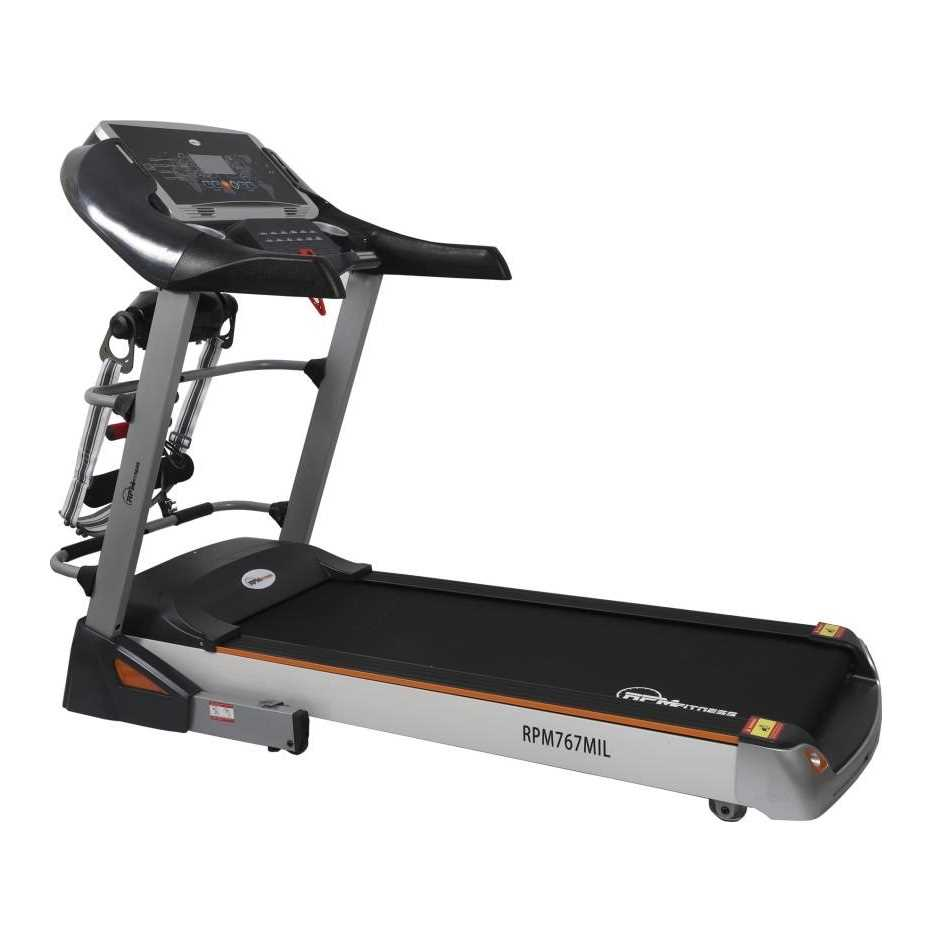 RPM Fitness RPM767MIL Motorized Treadmill
