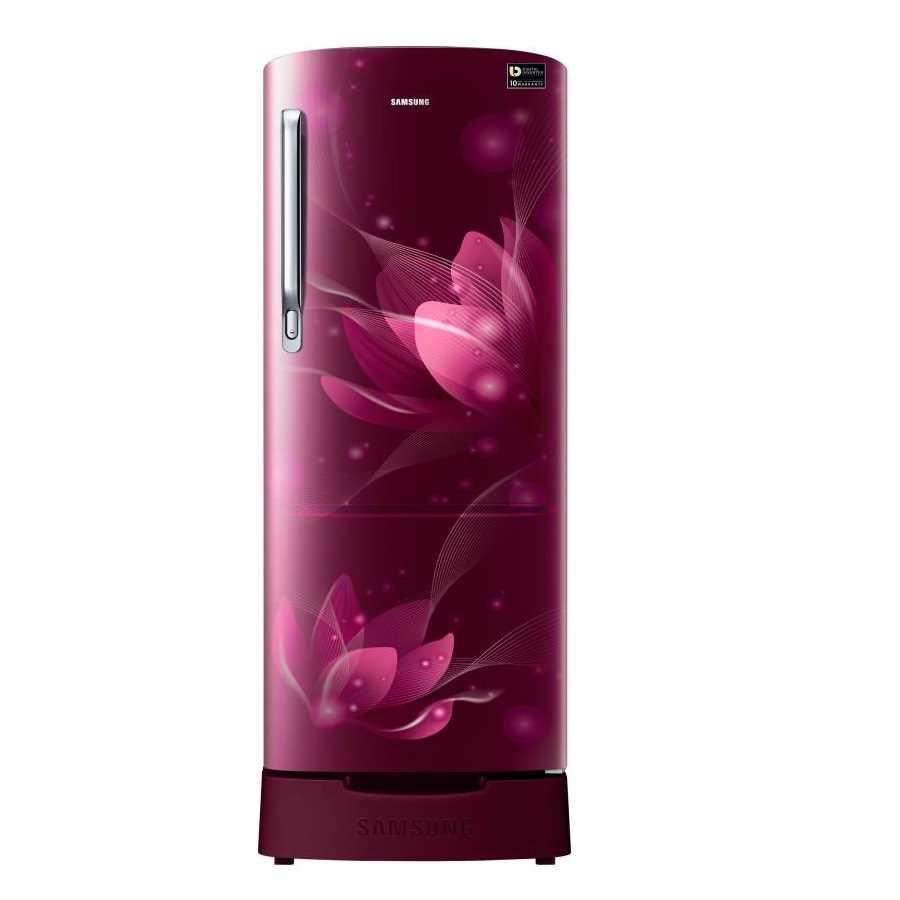 Samsung RR20N182XR8 HL 192 Liter Direct Cool Single Door 5 Star Refrigerator