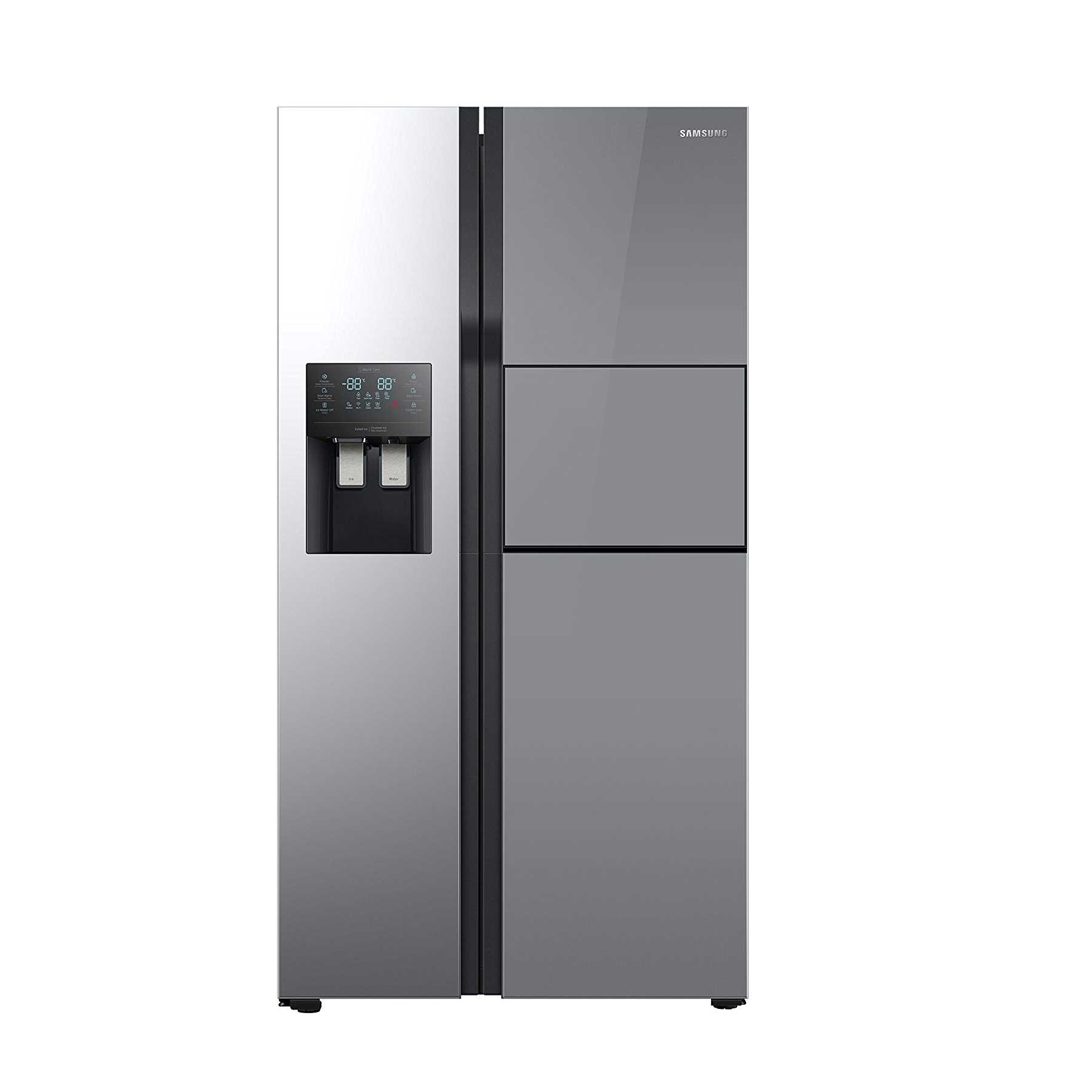 free refrigerator and side jun double litres frost doors door reviews specifications samsung black by price