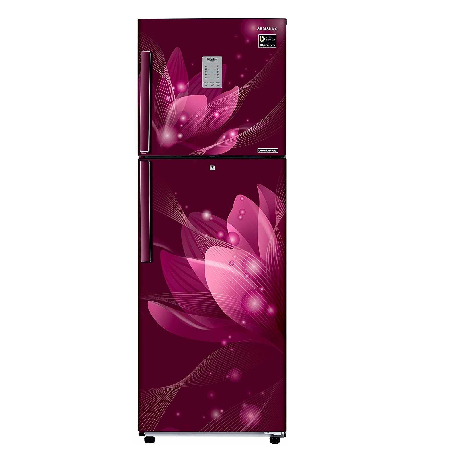 Samsung RT28N3923R8 HL 253 Litre 3 Star Frost Free Double Door Refrigerator