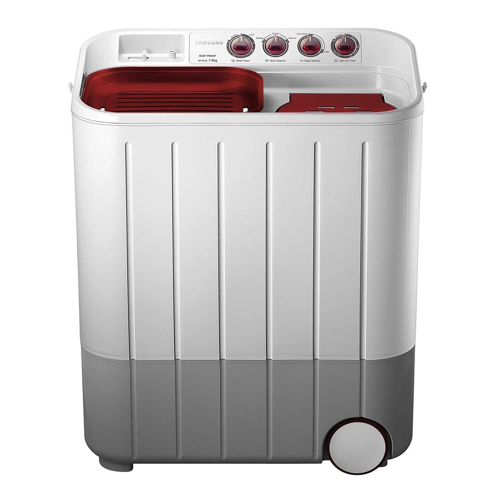 Samsung WT707QPNDMW XTL 7 Kg Semi Automatic Top Laoding Washing Machine