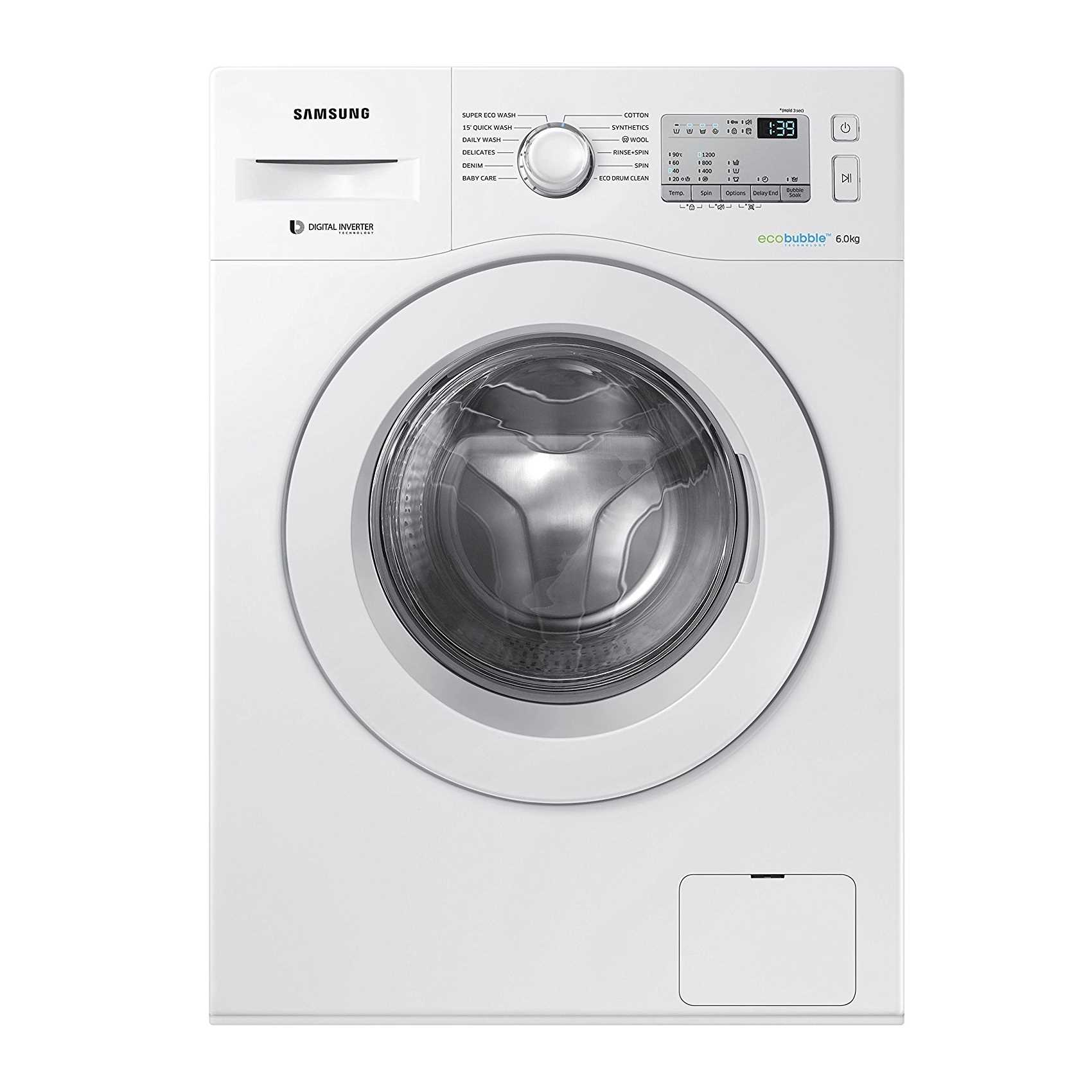 Samsung WW60M204KMA TL 6 Kg Fully Automatic Front Loading Washing Machine
