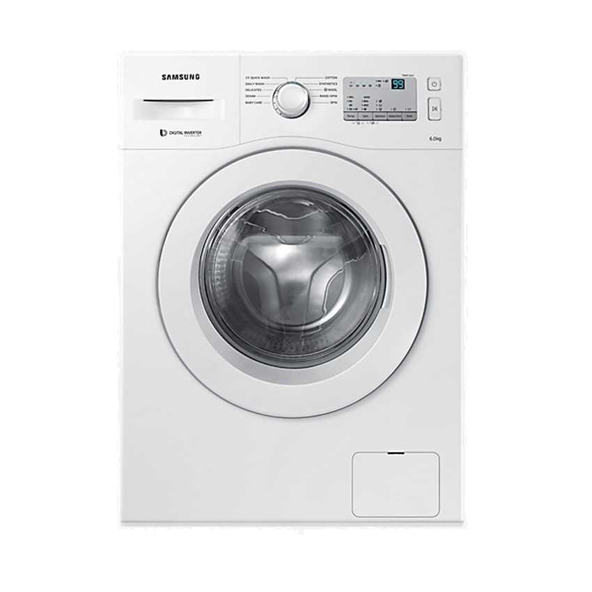Samsung WW60M206LMA 6 Kg Fully Automatic Front Loading Washing Machine