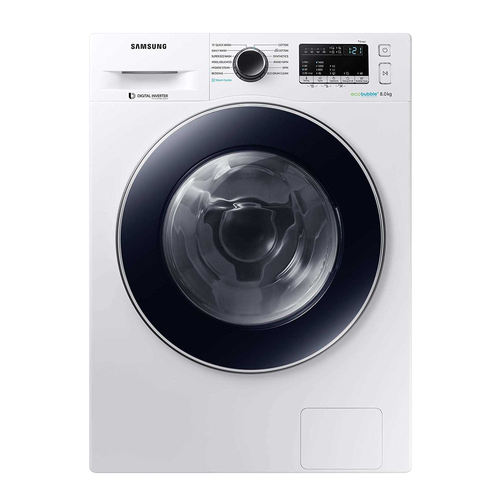 Samsung WW80J44E0BW TL 8 Kg Fully Automatic Front Loading Washing Machine