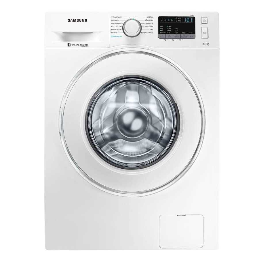 Samsung WW80J44G0IW 8 Kg Fully Automatic Front Loading Washing Machine