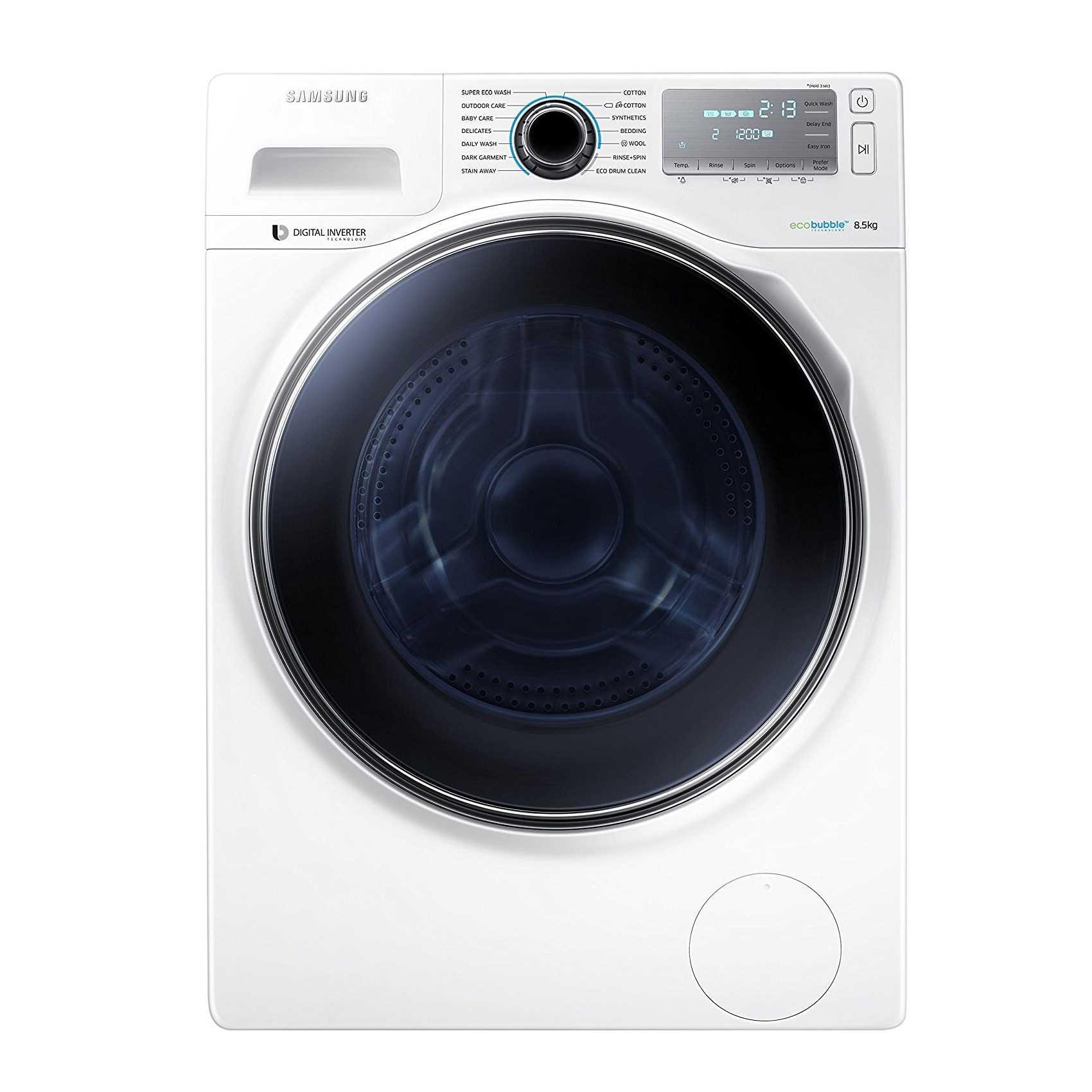 Samsung WW85H7410EW TL 8.5 Kg Fully Automatic Front Loading Washing Machine