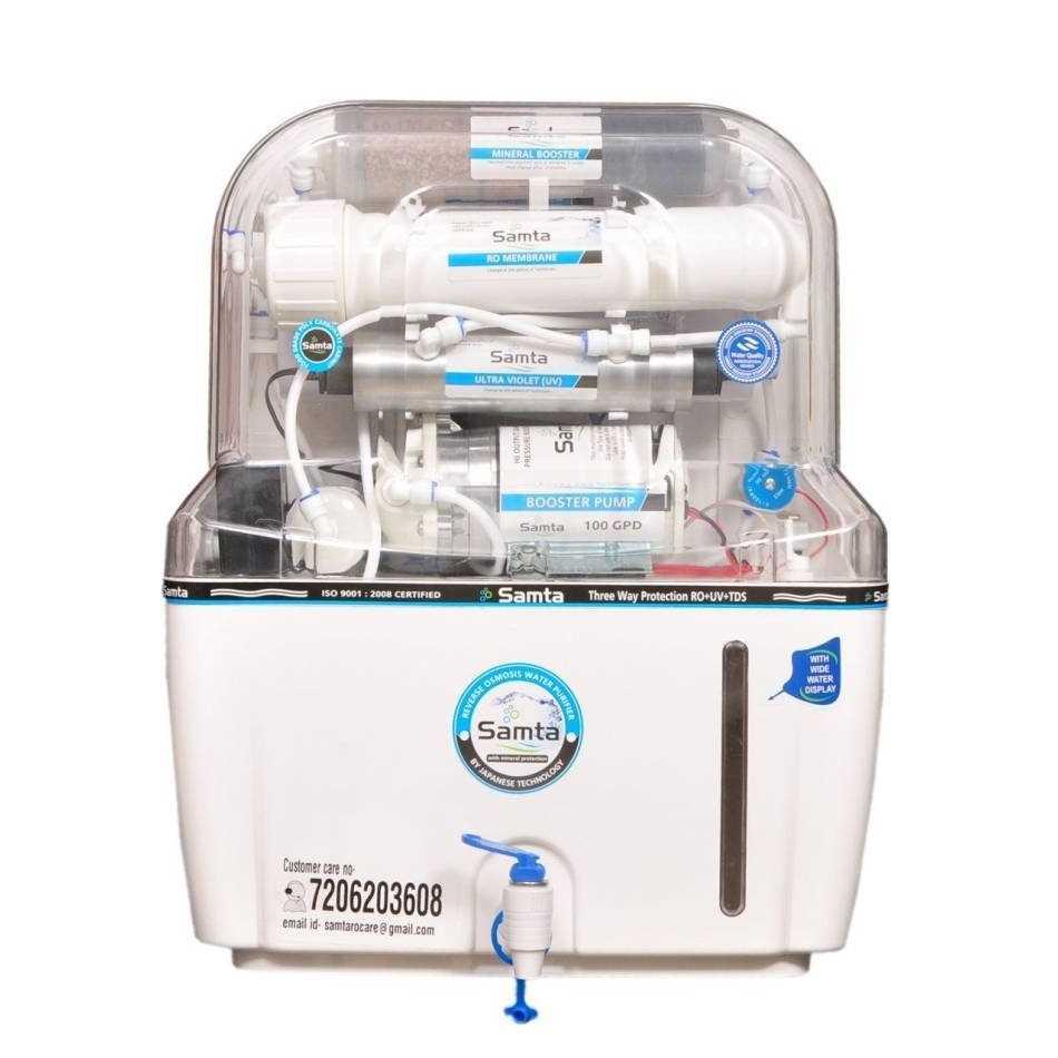 Samta Aqua 15 Litre RO + UV + UF + TDS Water Purifier