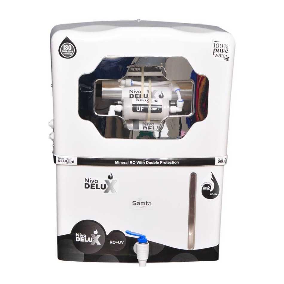 Samta Niva Delux 12 Litre RO + UV +UF Water Purifier