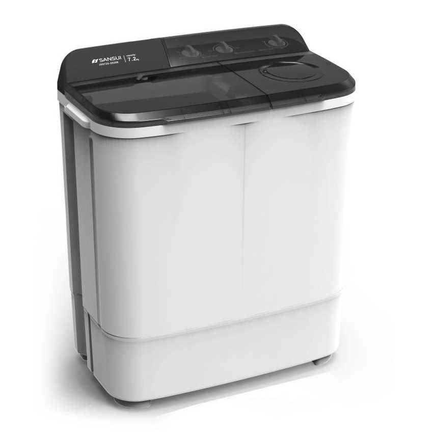 Sansui JSK72S-2020K 7.2 Kg Semi Automatic Top Loading Washing Machine