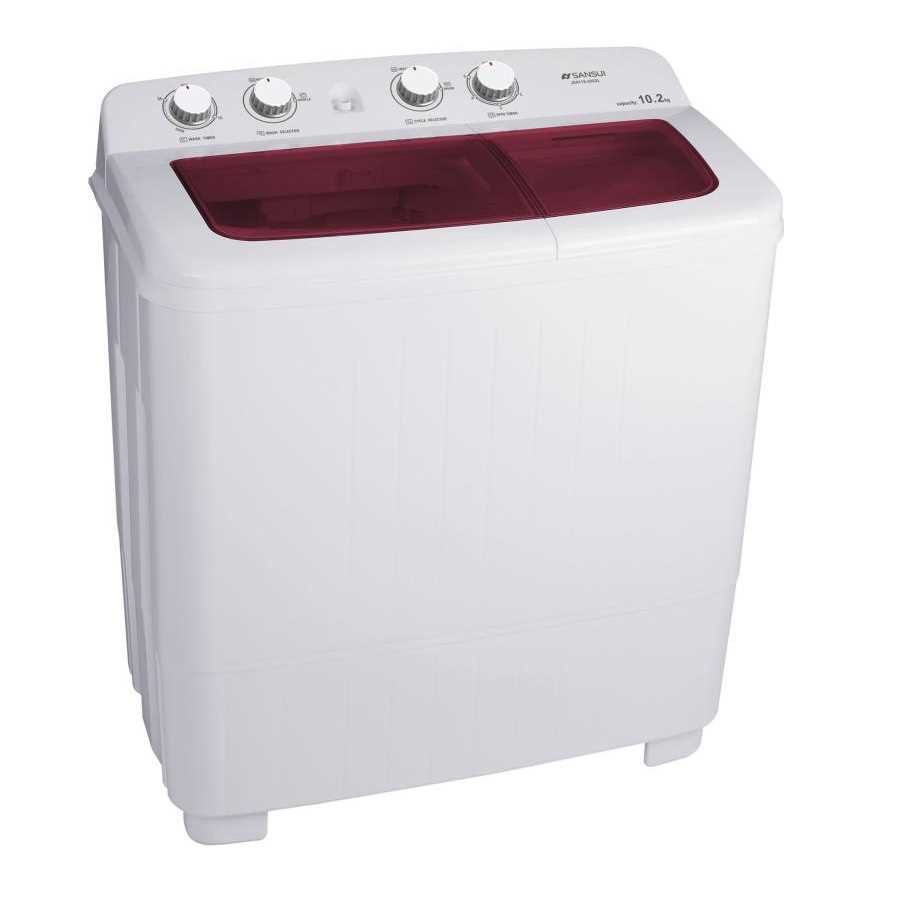 Sansui JSX11S-2022L 10.2 Kg Semi Automatic Top Loading Washing Machine
