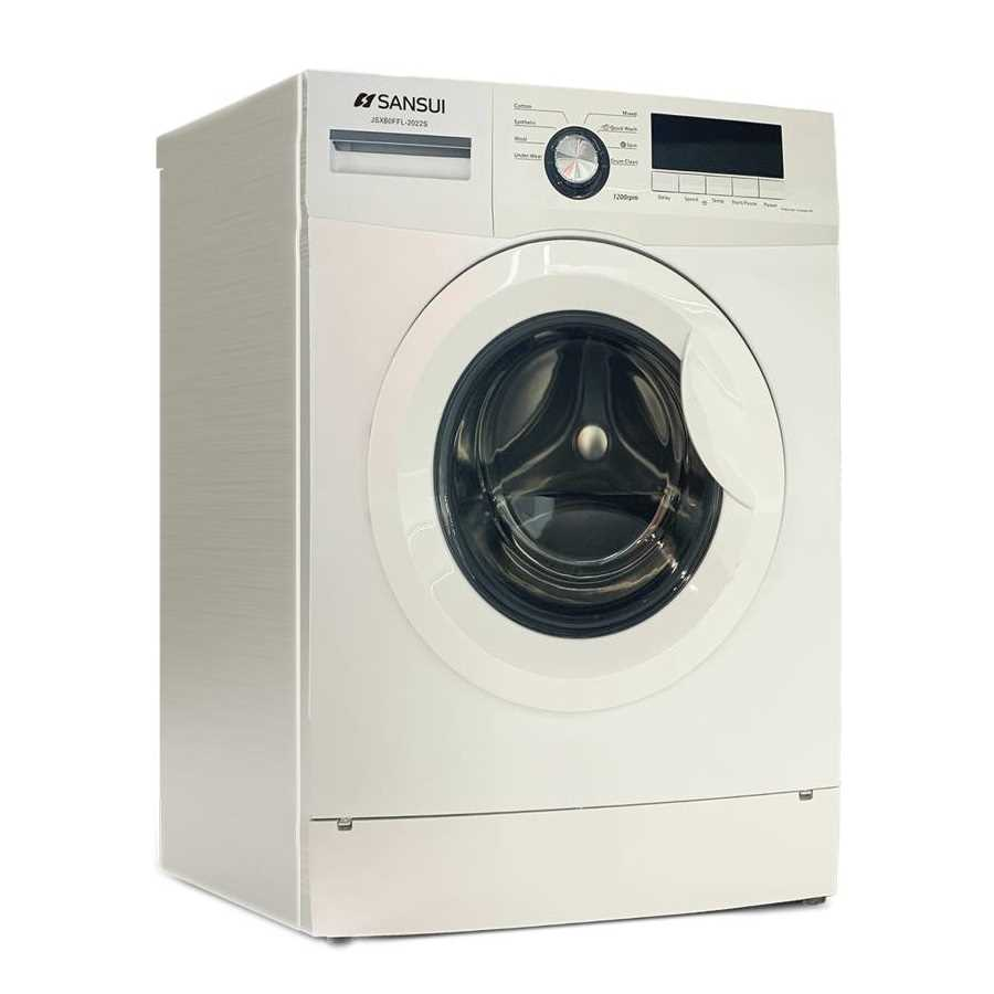 Sansui JSX60FFL-2022S 6 Kg Fully Automatic Front Loading Washing Machine