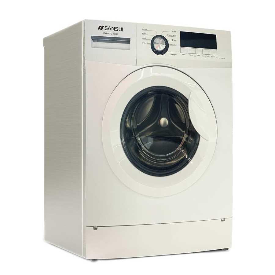 Sansui JSX60FFL-2022S 6 Kg Fully Automatic Front Loading Washing Machine
