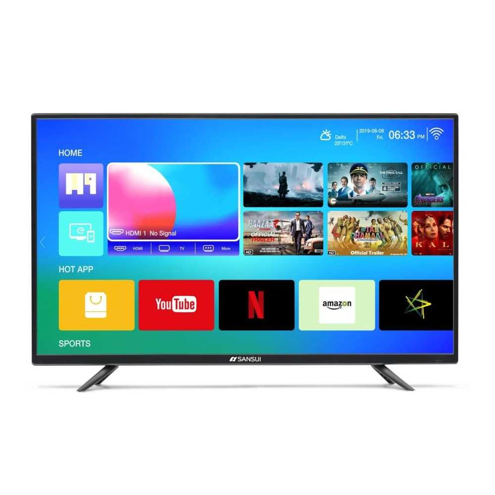 Sansui Pro View 40VAOFHDS 40 Inch Full HD Smart LED Television