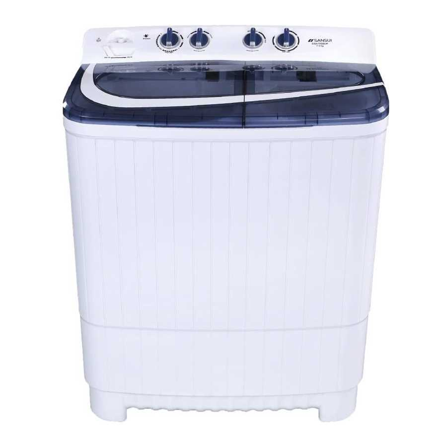 Sansui SISA75GBLW 7.5 Kg Semi Automatic Top Loading Washing Machine