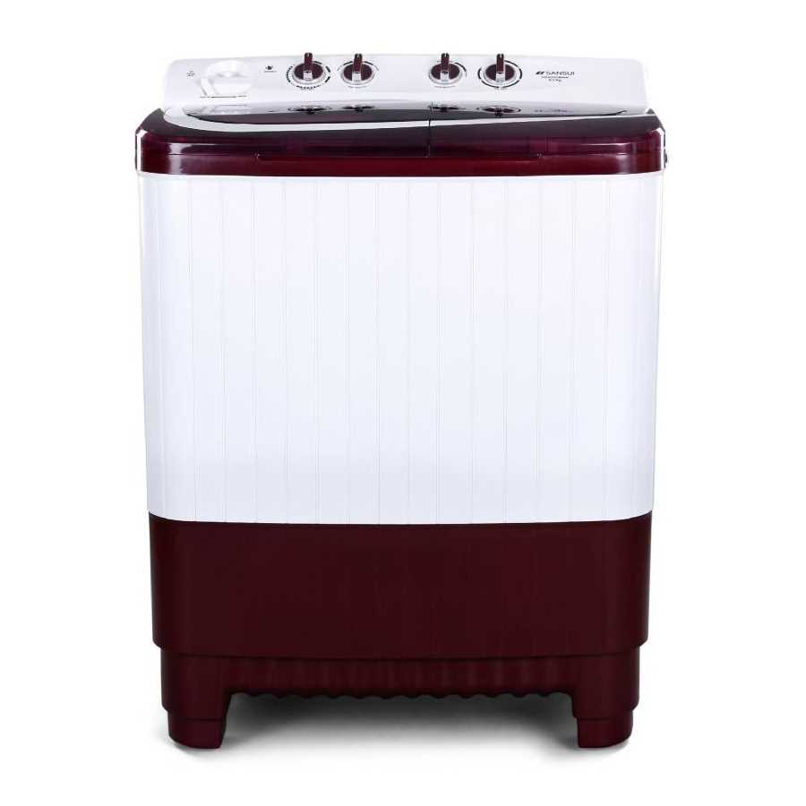Sansui SISA85GMAW 8.5 Kg Semi Automatic Top Loading Washing Machine