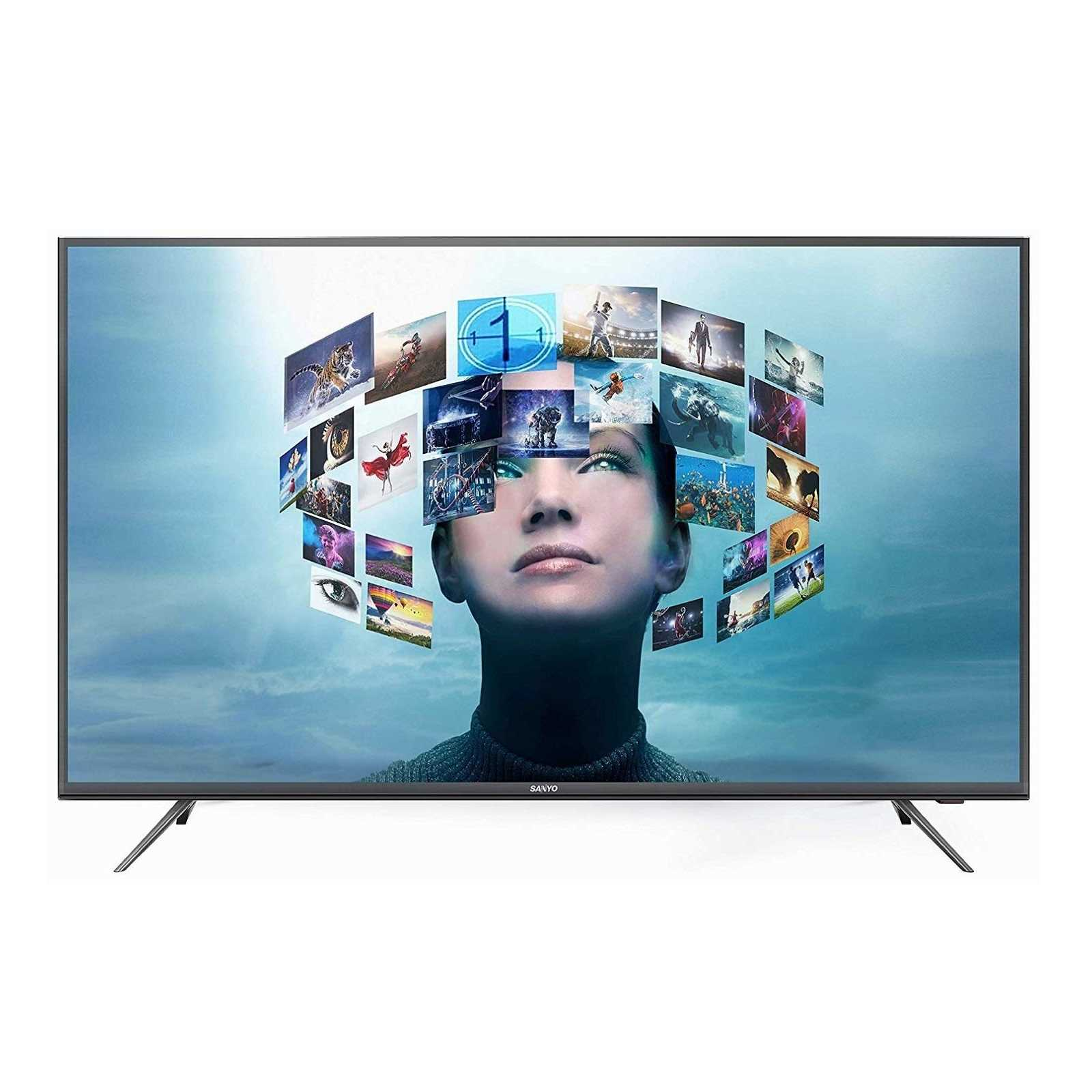Sanyo Certified Android XT-43A081U 43 Inch 4K Ultra HD Smart LED Television