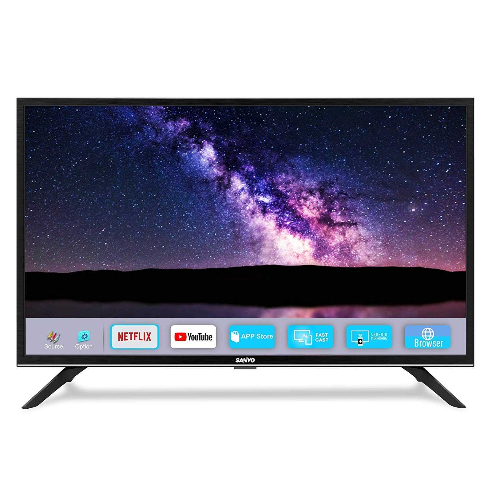 Sanyo Nebula XT-32A081H 32 Inch HD Ready Smart IPS LED Television
