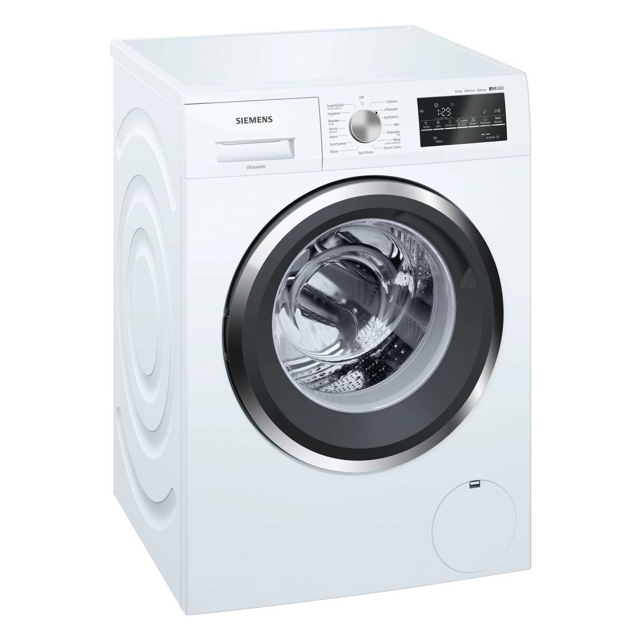 Siemens iQ500 WM14T461IN 8 Kg Fully Automatic Front Loading Washing Machine