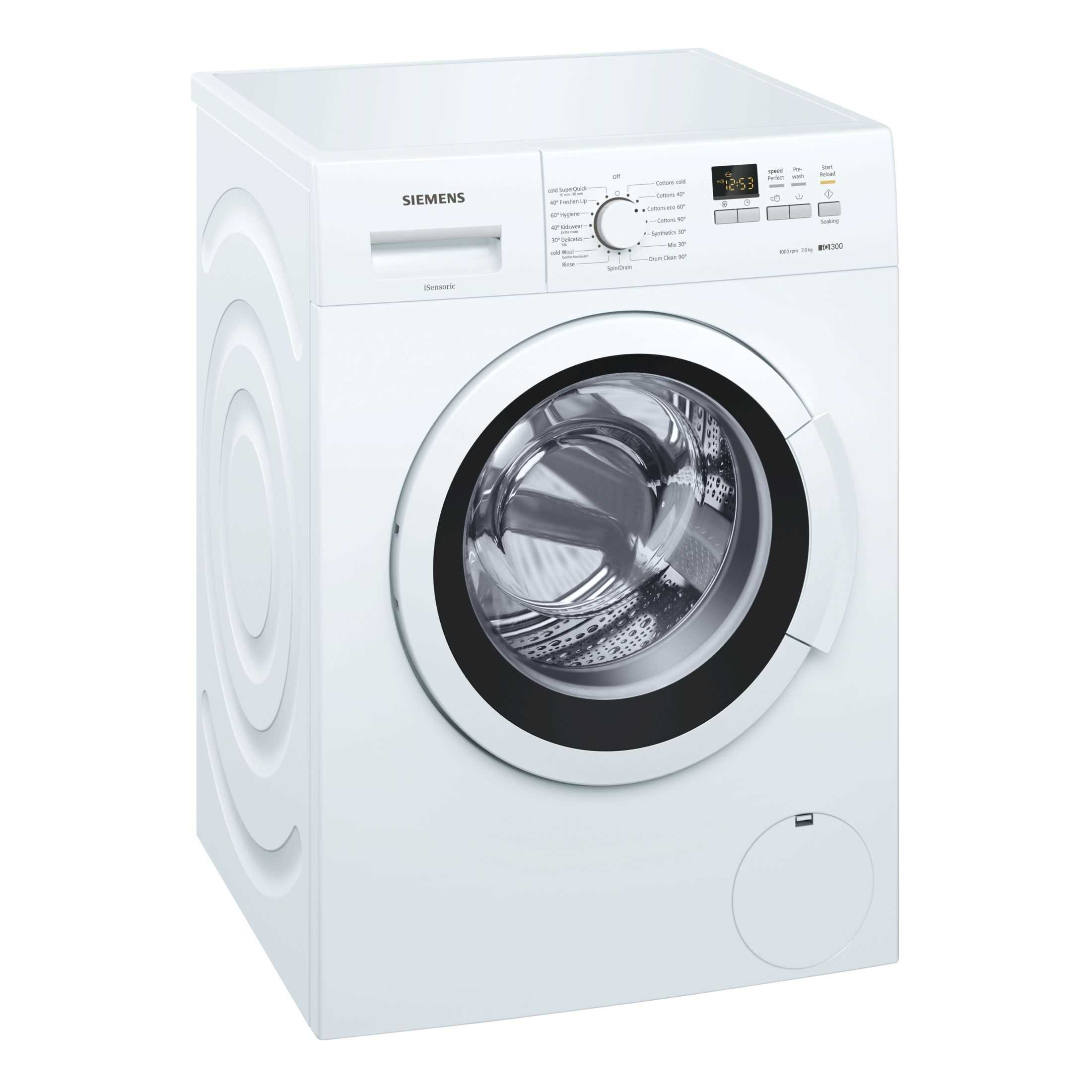 Siemens WM10K161IN iQ300 7 Kg Fully Automatic Front Loading Washing Machine