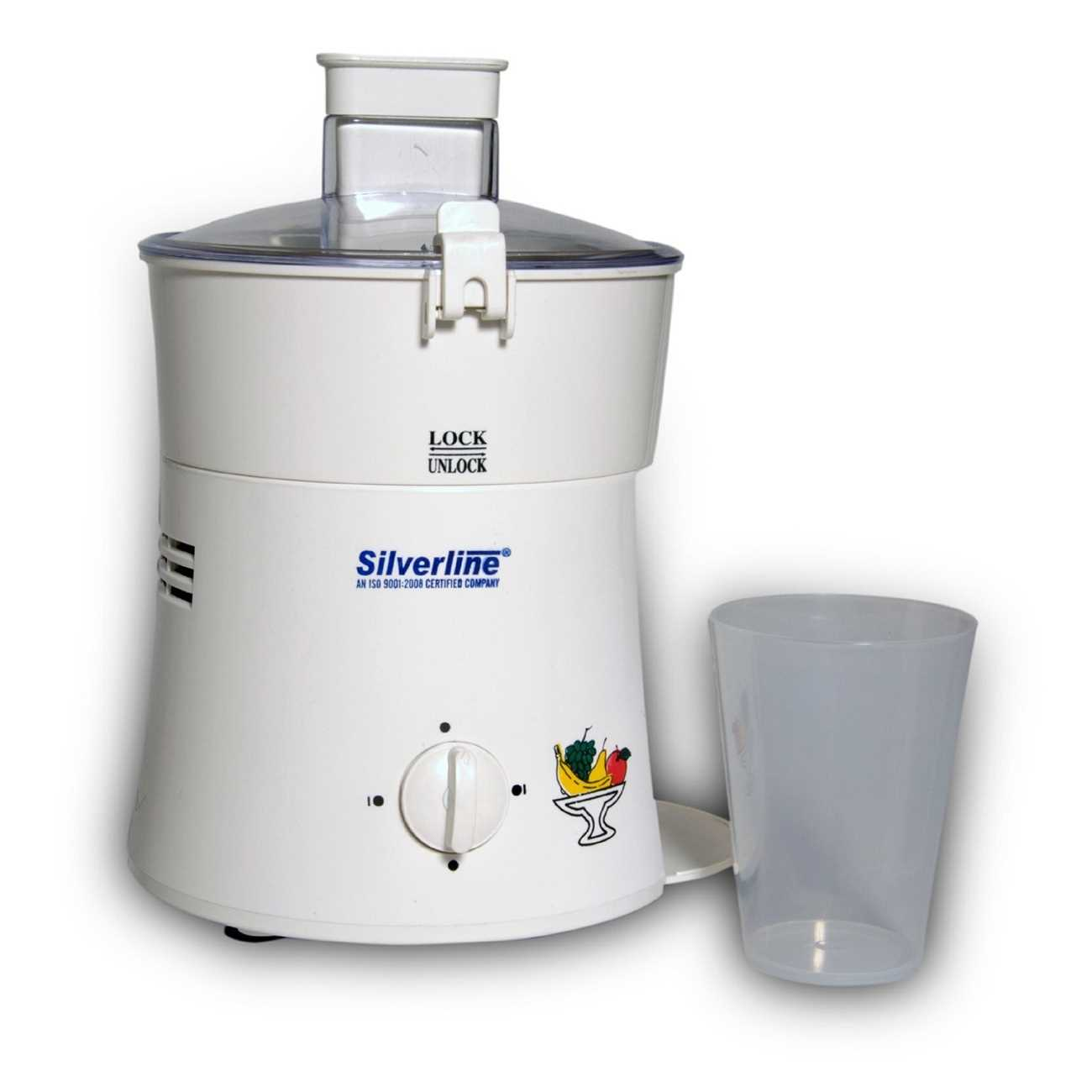 Silverline EKHAJT 450 W Juicer