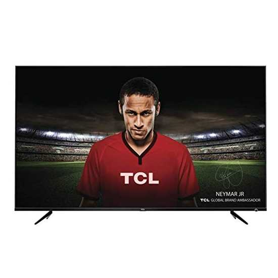 TCL 50P6US 50 Inch 4K Ultra HD Smart LED Television