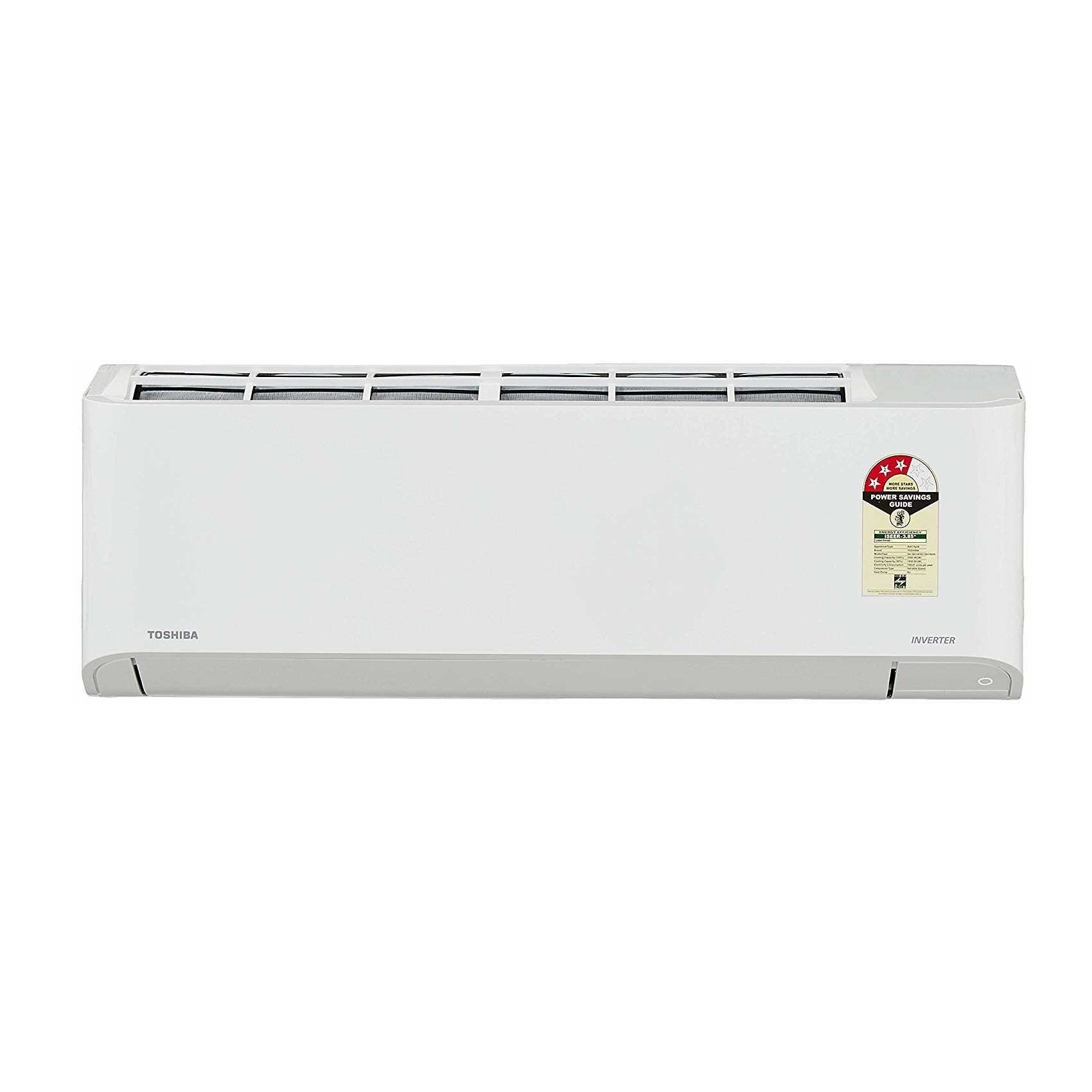 Toshiba RAS 13BKCV IN 1 Ton 3 Star Inverter Split AC