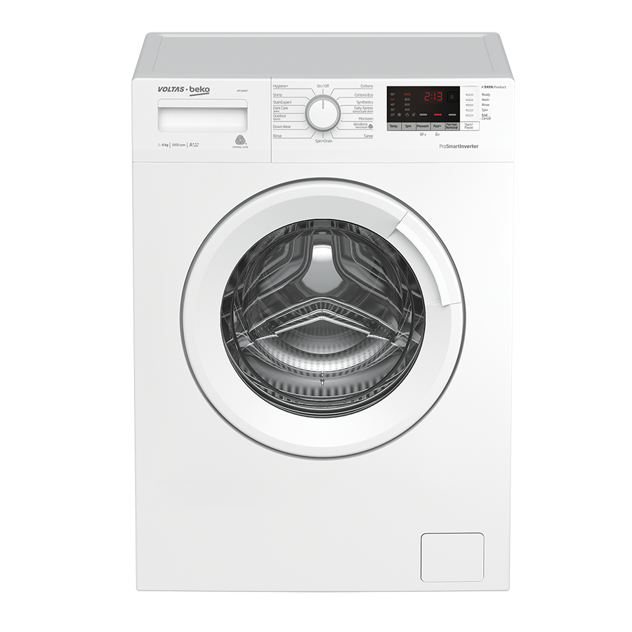 Voltas Beko WFL60WS 6 Kg Fully Automatic Front Loading Washing Machine