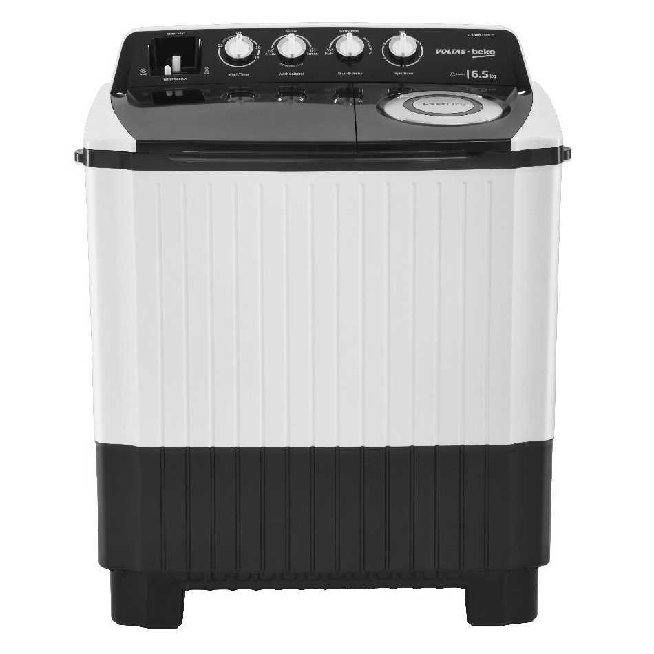 Voltas Beko WTT65 6.5 Kg Semi Automatic Top Loading Washing Machine