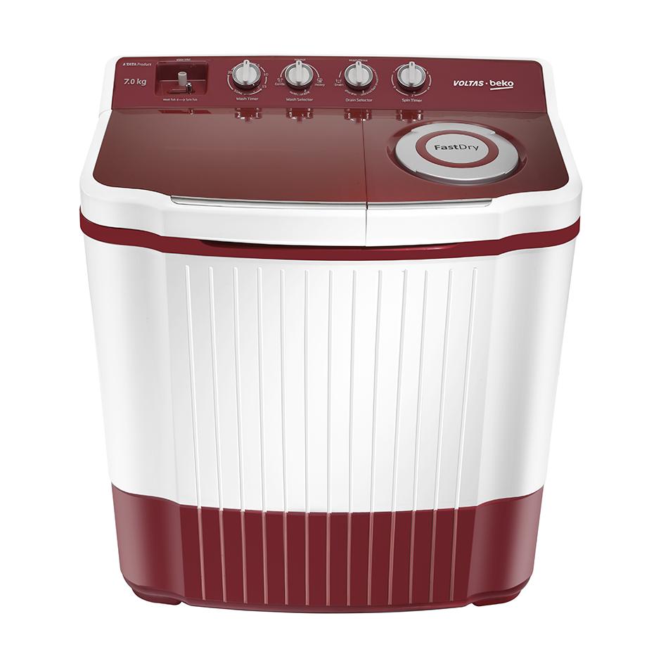 Voltas Beko WTT70 7 Kg Semi Automatic Top Loading Washing Machine